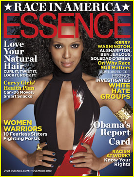 Kerry Washington Covers 'Essence' November 2010