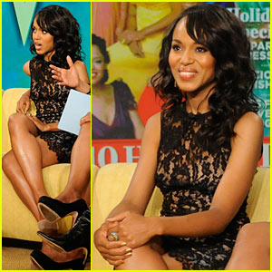 Kerry Washington Launches Official Website!