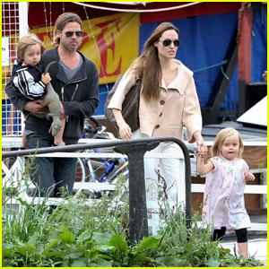 Knox & Vivienne Jolie-Pitt: Budapest Babies