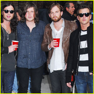 Kings of Leon Get 'Radioactive' on Letterman