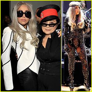 Lady Gaga & Yoko Ono: We Are Plastic Ono Band!