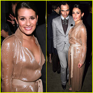 Lea Michele: Glamour Dinner Dashing