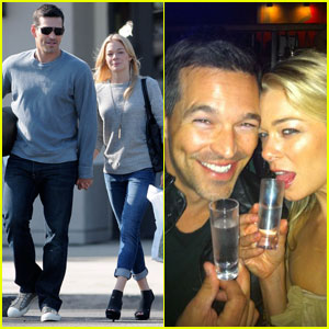 LeAnn Rimes & Eddie Cibrian: Shots and Shopping!