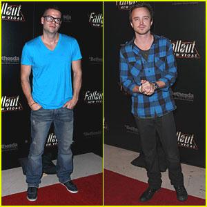 Mark Salling & Aaron Paul: 'Fallout' Fellas