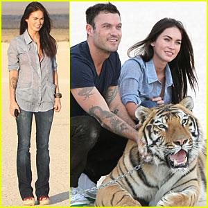 Megan Fox & Brian Austin Green: Tiger Twosome