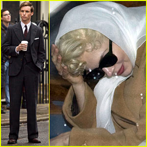 Michelle Williams & Eddie Redmayne: 'Marilyn' Mates