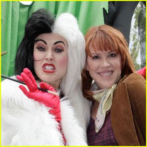 Molly Ringwald: Disneyland with Cruella de Vil!