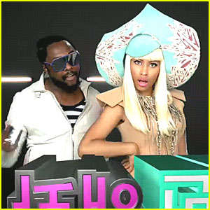 Nicki Minaj: 'Check It Out' Video Debut with Will.i.am!