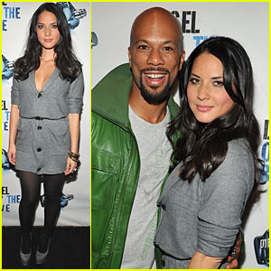 Olivia Munn & Common: Only the Brave!!