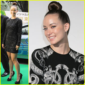 Olivia Wilde Takes Over Tokyo with 'Tron: Legacy'