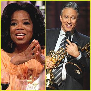 Oprah Surprises 'Daily Show' Audience
