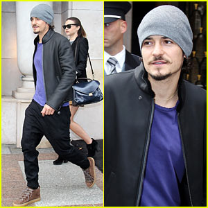 Orlando Bloom & Miranda Kerr: Paris Pair for Fashion Week