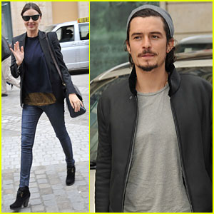 Miranda Kerr & Orlando Bloom: Finished With Fashion Week?