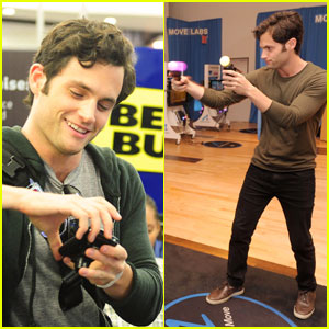 Penn Badgley: Moving and Shaking at Best Buy