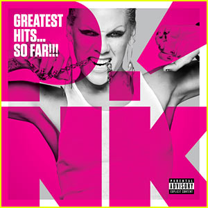Pink's Greatest Hits CD Cover Released!