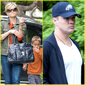 Reese Witherspoon: Deacon Phillippe Birthday Party!