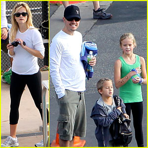Reese Witherspoon & Ava: Mother-Daughter Triathlon!