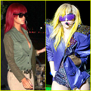 Rihanna & Lady Gaga Duet? Nope!