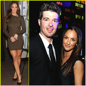 Minka Kelly & Robin Thicke: RLife Live!