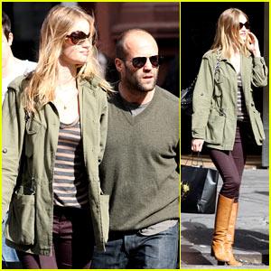 Rosie Huntington-Whiteley & Jason Statham: Noho Shopping Spree