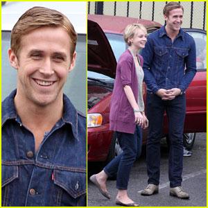 Ryan Gosling & Carey Mulligan Take A Rainy 'Drive'