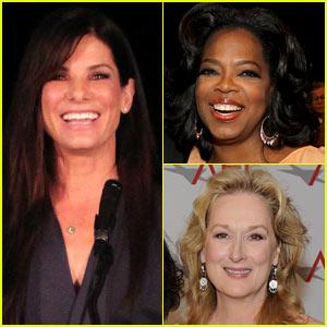 Sandra Bullock Hits the Big Screen With Oprah!