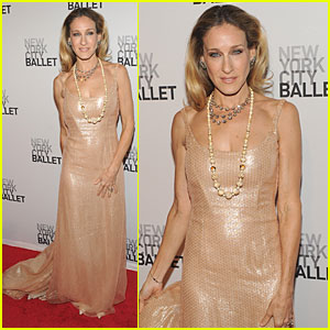 Sarah Jessica Parker: NYC Ballet Gala!