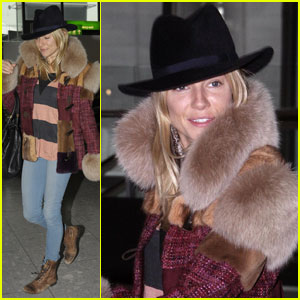 Sienna Miller is 'Fur' Real