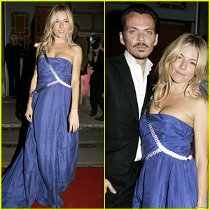Sienna Miller: Matthew Williamson Book Launch Party!