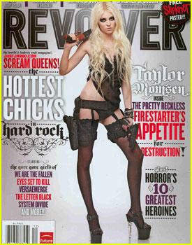 Taylor Momsen: Guns N' 'Revolver'