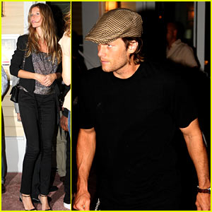 Tom Brady & Gisele Bundchen: Date Night!