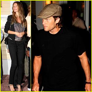 Tom Brady & Gisele Bundchen: Date Night!