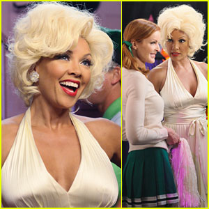 Vanessa Williams' Halloween Costume: Marilyn Monroe!