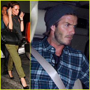 David & Victoria Beckham: Matsuhisa Mates
