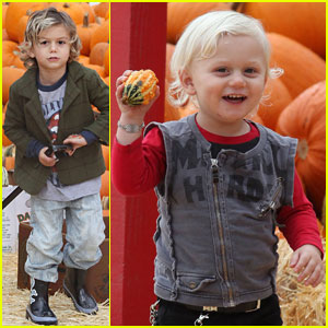 Kingston & Zuma Rossdale: Pumpkin Patch Fun!