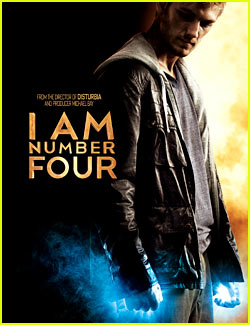 Alex Pettyfer: 'I Am Number Four' Poster!