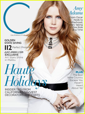 Amy Adams Covers 'C' Magazine - California Style