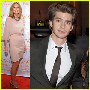 Andrew Garfield: Worldwide Orphans Foundation Gala Guy