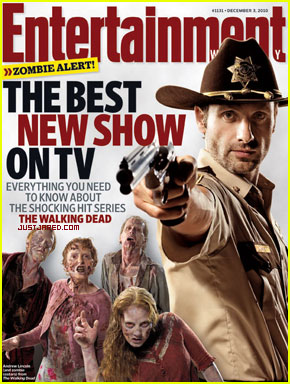 Walking Dead's Andrew Lincoln Covers EW