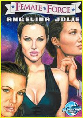 Angelina Jolie: 'Female Force' Comic Book!