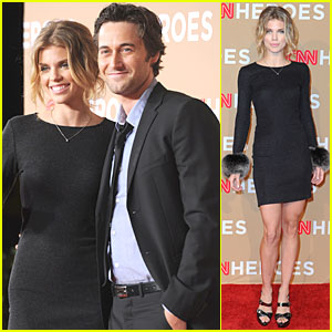 AnnaLynne McCord: CNN Heroes with Ryan Eggold!