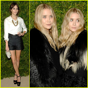 Mary-Kate & Ashley Olsen: Fur at Fashion Fund Awards