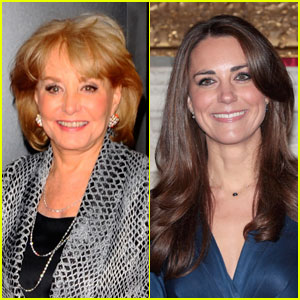 Barbara Walters to Kate Middleton: You're Fascinating!