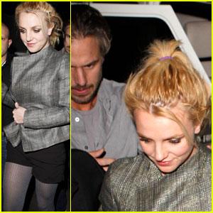 Britney Spears & Jason Trawick: Troubadour Twosome