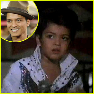 Bruno Mars: Elvis Impersonator at Age 4!