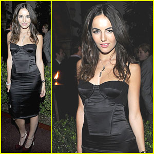 Camilla Belle: GQ Men of the Year Party with Wilmer Valderrama!