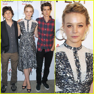 Carey Mulligan: Roundtable With Andrew Garfield & Jesse Eisenberg