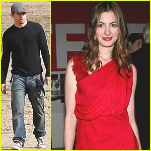 Channing Tatum & Anne Hathaway: Love & Honor!