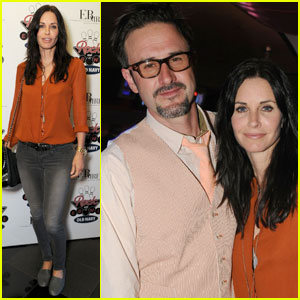 Courteney Cox & David Arquette: Pinz Pals