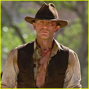 Daniel Craig: 'Cowboys & Aliens' Teaser Trailer!